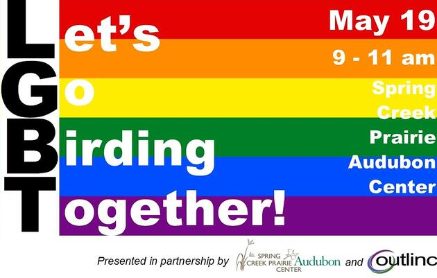 LGBT - Let's Go Birding Together!