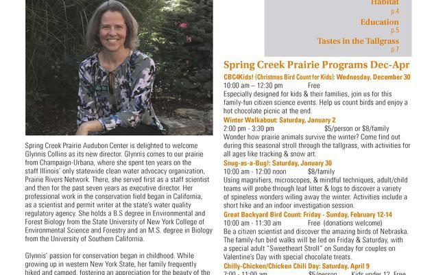 Prairie Sage newsletter