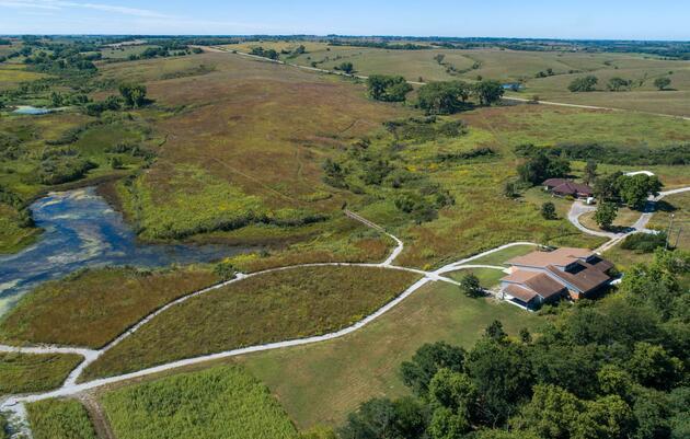 Visiting Spring Creek Prairie