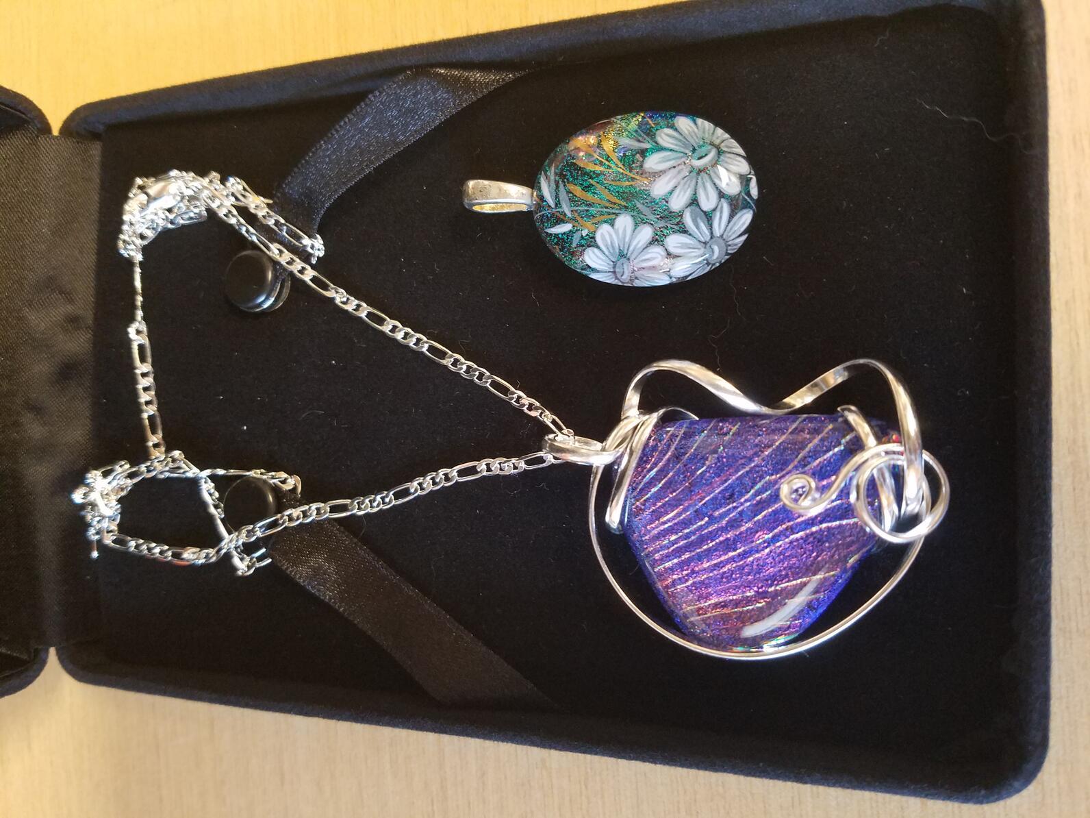 Art Glass pendants & necklace